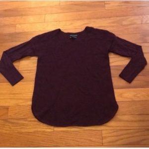 Cynthia Rowley Extra Fine Merino Wool Sweater